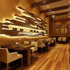 Back wall ideas Japanese Restaurant Interior Design Group Picture Image By Tag.