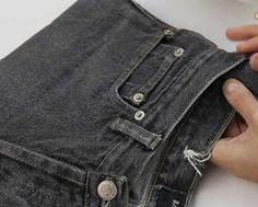 Cómo hacer un bolso con un jeans....