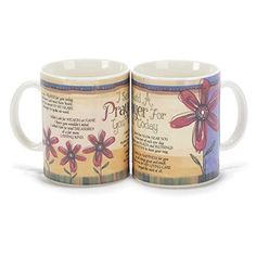 Get the I Said a Prayer for You Today 16 oz. New Bone China Mug securely online at charingskitchen.com today.