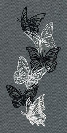 Wonderful Ribbon Embroidery Flowers by Hand Ideas. Enchanting Ribbon Embroidery Flowers by Hand Ideas. Embroidery Leaf, Butterfly Embroidery, Embroidery Patterns Free, Silk Ribbon Embroidery, Hand Embroidery Designs, Vintage Embroidery, Cross Stitch Embroidery, Beginner Embroidery, Embroidery Tattoo