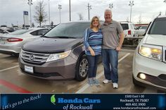 https://flic.kr/p/P88bc4 | Happy Anniversary to Brenda on your #Honda #Odyssey from Marvin Lazalde at Honda Cars of Rockwall! | deliverymaxx.com/DealerReviews.aspx?DealerCode=VSDF