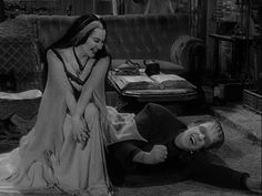 Herman and Lily Munster. I was raised on this show. And my mother blames ME for being so weird.
