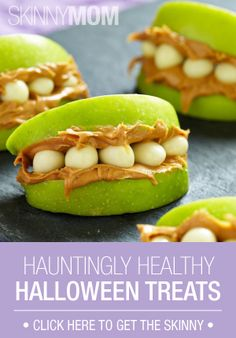 Halloween can get unhealthy fast! These treats are some of Easton's favorites, and they're healthy :)