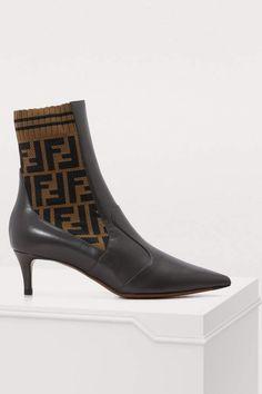 finest selection 840c0 18735 Fendi Rockoko ankle boots Boots Online, Fendi, Ankle Boots, Shoe Boots, Boot