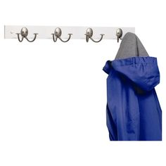Spectrum Diversified Stratford Coat Rack with 4 Double Hooks