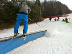 Ski, snowboard and tube at Berkshire East