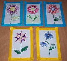 Ajándékkészítés anyáknapjára Cross Stitch Embroidery, Needlepoint, Diy And Crafts, Jar, Tech, Cards, Embroidery, Mother's Day, Crafting