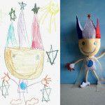 Transforme o desenho do seu filho em brinquedo!
