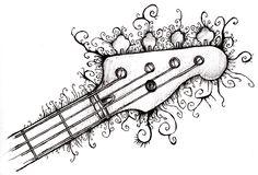 .Rock n Roll Bass #Rocknroll #bass #fender #art