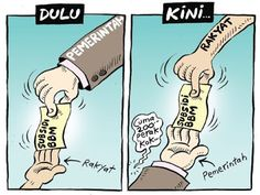 Mice Cartoon, Rakyat Merdeka - Desember 2015: Subsidi BBM