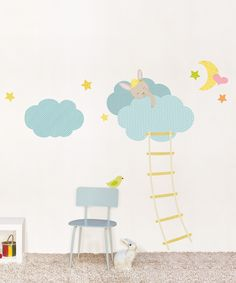 Clouds and Dreams Wall Decal Set