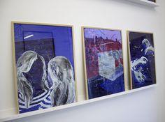 RT @beautonart: Acrylic on glass. Works by Grøngaard here: https://t.co/mPLUDCLNM8 https://t.co/zoF0Qyn6iP