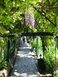 The Achillion Palace - Situated around 10 km south of Corfu town in the village . Us Honeymoon Destinations, Corfu Town, Corfu Island, Places In Greece, Corfu Greece, Turquoise Water, Greek Islands, Wonderful Places, Palace