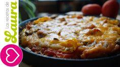 Pizza Light Las Recetas de Laura Comida Saludable Low carb Pizza