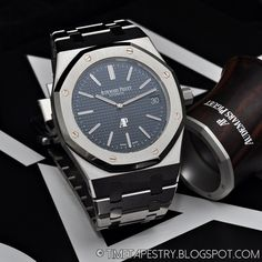 Audemars Piguet royal oak. How can you be wrong wearing this?