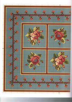 Las minis de Rakel: Esquemas para alfombras a punto de cruz