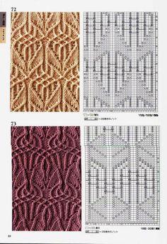Kira knitting: Knitted pattern no. 190