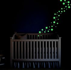 Display my amazing glow in the dark stars on a wall or ceiling. They are very easy to apply and remove with no mess.