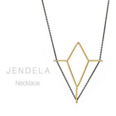 The New JENDELA Necklace. Inspired by the architectural features and lines found in Stained Glass windows, each piece in the Ventana collection is named for the word Window in different languages. * * * * * #ig_minimalist #minimalistic #msminimalist #