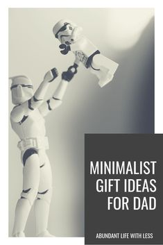 Gift ideas for the minimalist dad or the dad who has it all! Father's day gift ideas. #minimalistgiftideasfordad #fathersdaygiftideasfordad #fathersdaygifts #minimalistgiftideas #Minimalism