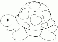 Cartoon Puppy coloring page for kids, animal coloring