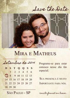 O Save the Date é um lembrete ou um anúncio do casamento. Para que os convidados se organizem para o casamento. Fazer um Save the Date é importante. Saiba o porquê.