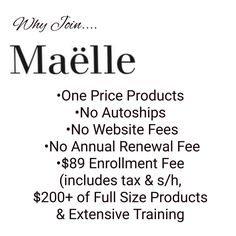 Join the Maëlle Adventure! Launch a company from ground level and watch as yourl change your dreams into plans! #WakeUpMakeupMaelle #BuildingMyEmpire #WorkFromHome