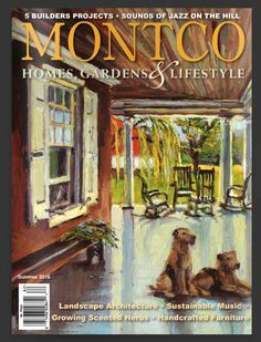 """""""Pennypacker in July""""  by Jennifer Hansen Rolli ov. Pennypacker had a grandson that raised, Welsh Terriers, on the property."""