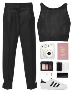 """""""Untitled #83"""" by dianakhuzatyan ❤ liked on Polyvore featuring Marni, Topshop, adidas, NARS Cosmetics, Forever 21 and Chanel"""