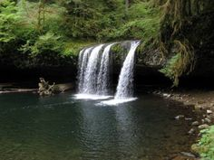 Butte Creek Falls Loop Hike - Hiking in Portland, Oregon and Washington. 1.5 h from Portland but 1.1 miles for hiking and 2 falls. Nice for photo