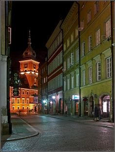 Warsaw by Night - Warsaw, Poland