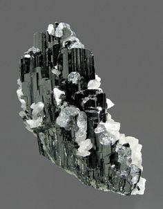 Hübnerite with Fluorite