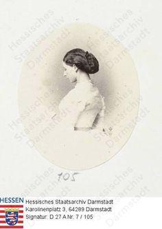 Princesse Alice de Grande-Bretagne (1843-1878) épouse du grand-duc Louis IV de Hesse