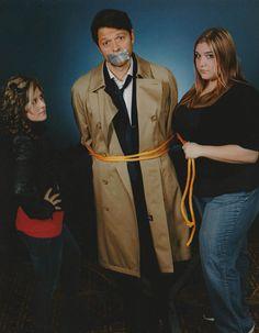 We captured Castiel #fiftyshadesofcas #supernatural