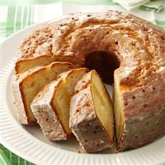 Blue-Ribbon Butter Cake Recipe