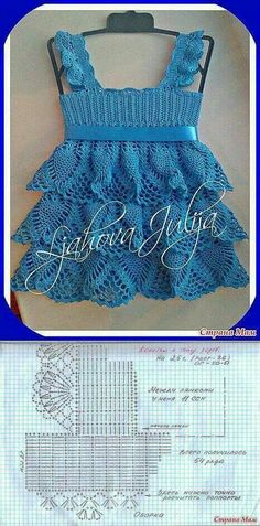 Dress crochet pattern kids