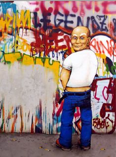 The Best Of French Street Artist DRAN: Mr. Clean, or Monsieur Propre, as he's known in France.