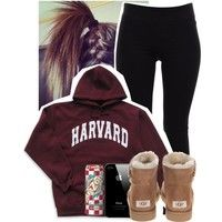 Harvard back to School Outfit