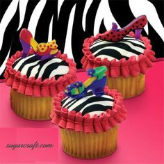 Shoes combined with Cupcakes!  I didn't think it could get better!