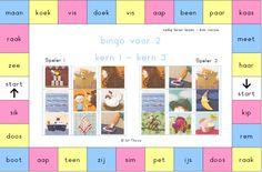jufthirza.nl Bingo voor 2 veilig leren lezen kim-versie kern 1 tot kern 3