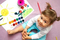 Are you teaching ESL to young children and not sure where to start? These 5 types of activities will keep your kids engaged, happy and learning! Craft Activities For Toddlers, Toddler Learning Activities, Toddler Preschool, Activities For Kids, Indoor Activities, Painting Of Girl, Painting For Kids, Finger Painting, Teaching Abcs