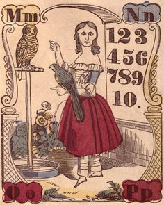 Free Victorian Clip Art - Early Alphabet Book - The Graphics Fairy