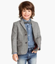 Find fashionable clothing for men, women and kids at affordable prices, plus stylish home décor. Boys Dress Outfits, Little Boy Outfits, Toddler Outfits, Baby Boy Outfits, Kids Outfits, Grey Blazer Outfit, Blazer Outfits, Blazer Fashion, Fashion Outfits