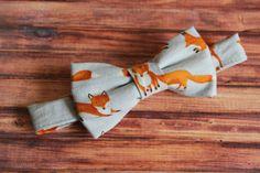 Fox Bowtie...Cake Smash...1st Birthday...Newborn by LilStudMuffins