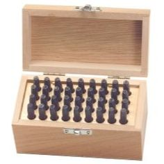 """36 PIece Letter and Number Punch Set - 5/32"""""""""""""""""""