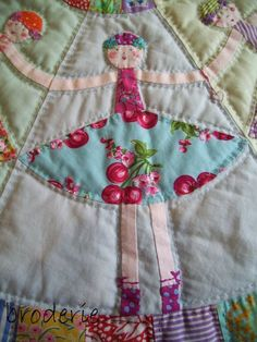 Dancing Dollies quilt by Trish Harper