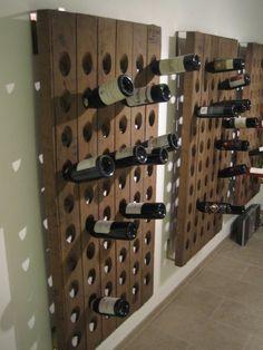 Wine Cellar Racks, Wine Rack Wall, Wine Wall, Riddling Rack, The Wine Shop, Wine Bottle Art, Wine O Clock, Wine Storage, Caves