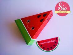 Sandia sandia ♥ Watermelon, Arts And Crafts, Craft Art, Crates, Manualidades, Art And Craft, Crafts, Art Crafts