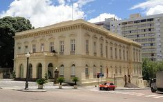 Theatro São Pedro - Centro Histórico - Porto Alegre, Rio Grande do Sul, Brasil.