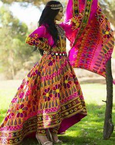 アフガニスタンのドレス